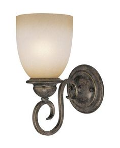 View the Vaxcel Lighting VL35921 Mont Blanc 1 Light Bathroom Sconce at LightingDirect.com.