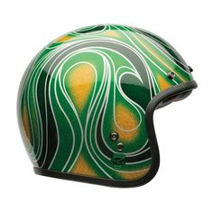 """BELL Custom 500 """"Chemical Candy Mean Green"""""""