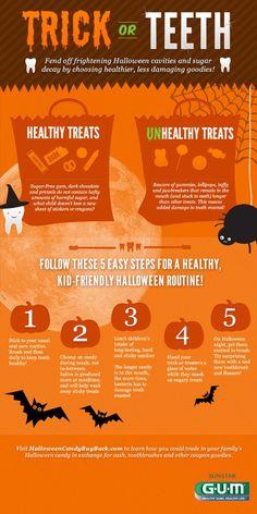 #Halloween Dolcetto o scherzetto... secondo i tuoi denti! http://www.b-eat.it/blog/digital/tra-caramelle-cioccolatini-e-zucche-lhalloween-foodie-10-infografiche
