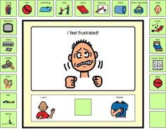 Frustrated Choice Board- This is a choice board for kids who have the tendency to display inappropriate behaviors when they are frustrated. It's great for kids who are verbal or non-verbal, as the visual cue helps them to make a better decision. Classroom Behavior, Autism Classroom, Classroom Ideas, Choice Boards, School Social Work, Behaviour Management, Emotional Regulation, Autism Resources, Social Thinking
