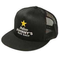 Mellow Johnny s Black Snapback Hat 9a53edb1a