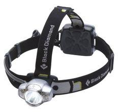 Black Diamond Icon Strinlampe silber