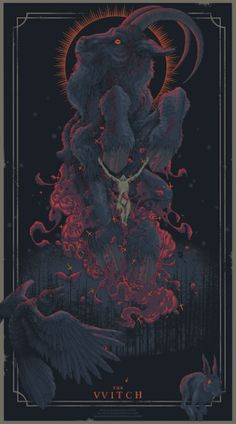 'Witch Of The Wood' by Pighands - Occult art - Art And Illustration, Illustrations, Arte Horror, Horror Art, Witch Aesthetic, Aesthetic Art, Fantasy Kunst, Fantasy Art, Satanic Art