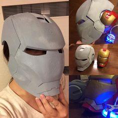 "25 To se mi líbí, 4 komentářů – Lina Katayose (@linakatayose) na Instagramu: ""アイアンマン マーク2 制作中 #ironman #3dプリンター #3dprinting #アイアンマン #arcreactor  これから塗装します。"""