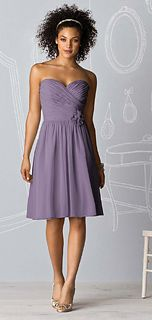 After Six Style 6609 Bridesmaid Dress in Lavender    Love this color
