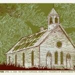 #Iron #Wine gig poster - Great textures