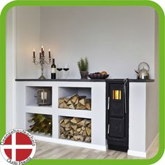Josef Davidssons Viking 30 kitchen wood stove. Stoves For Sale, Wood Stove Cooking, Cast Iron Stove, Range Cooker, Stove Fireplace, Stove Oven, Modern Fireplace, House Plans, Relax