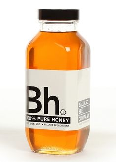 Bh 100% Pure Honey #packaging #naked #bottles