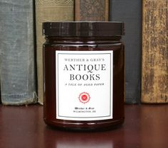 12 Literary Candles Every Reader Will Love. We need all of these.