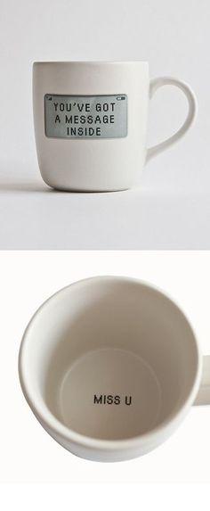 Secret message coffee mug #product_design …