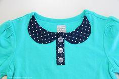 Como aplicar un cuello a una camiseta