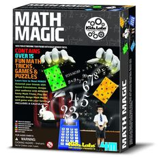 4M Kidz Labs Math Magic #mathtricks #mathtips