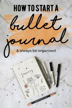 Your planner not working for you? Try a bullet journal and watch your organize game change! Click here to learn how to start a bullet journal!