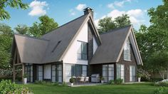 Modern landelijke woning