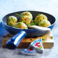 Découvrez la recette Boulettes de légumes à la Vache qui rit sur cuisineactuelle.fr.