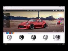 3D tuning cars and styling, tuning car online with modding parts, equipment and accessories - 3DTuning