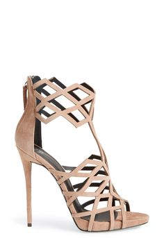 These geometric cage strap Giuseppe Zanotti sandals are going on top of the wish list for next spring.