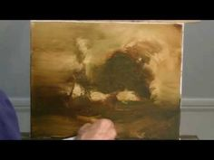 Oil Painting start to finish - YouTube