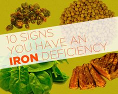 Signs You Have an Iron Deficiency If you spot these telltale symptoms, get yourself a spinach and steak salad, stat!If you spot these telltale symptoms, get yourself a spinach and steak salad, stat! Health And Nutrition, Health And Wellness, Health Fitness, Women's Health, Fitness Foods, Health Facts, Health Benefits, Healthy Tips, How To Stay Healthy