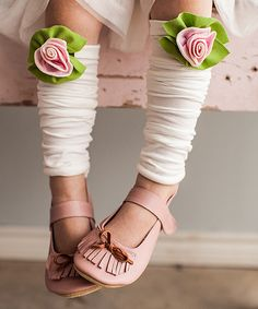 Petite Rose Leg Warmers