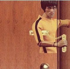 The Bruce Lee door lock.