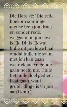 The best Afrikaans quotes ideas Inspiring Quotes About Life, Inspirational Quotes, Motivational, Afrikaans Language, Afrikaanse Quotes, Deeper Life, Bible Love, Special Words, Prayer Board