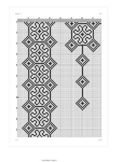 Filet Crochet, Crochet Lace, Sewing Projects, Projects To Try, Palestinian Embroidery, Prayer Rug, Hama Beads, Color Patterns, Diy And Crafts