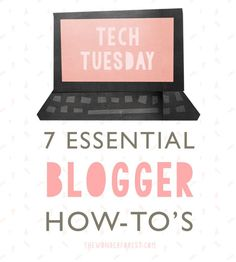 Bloggers must know