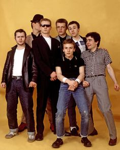 Madness - ska band from London, England Ska Music, One Step Beyond, Rude Boy, Northern Soul, Skinhead, Youth Culture, Mod Fashion, Post Punk, Fred Perry