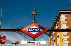 Madrid Metro /Metro de Madrid (Moncloa)  My old metro stop <3