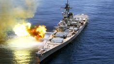 "Iowa-class Battleship  16""/50 caliber Mark 7 gun... - Rocketumblr"