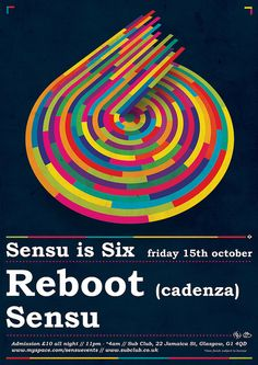 sensu is six (poster by The 100th Idiot, via Flickr