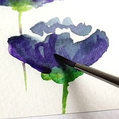 Floral Watercolor Tutorials