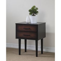 bedroom end tables with drawers