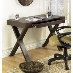 Loon Peak® Palomar Mountain 1 Drawer Writing Desk
