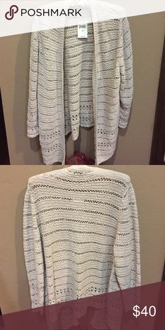 🎉HP🎉LAST CALL NWT 2X Lucky Brand Cardigan 🎉HP 🎉NWT Lucky Brand cotton cardigan. Beautiful pattern. 🌟 Holiday Gifts Host Pick 12-7-16 🌟 Thank you @breauxmode Lucky Brand Sweaters Cardigans