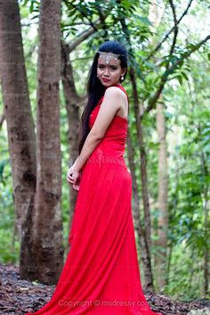 Stunning red gown form Edressy.com