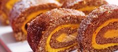 Saffron and gingerbread-flavored Swiss roll Christmas Sweets, Christmas Baking, Xmas, Swedish Recipes, Sweet Recipes, Baking Recipes, Cookie Recipes, Bagan, No Bake Desserts