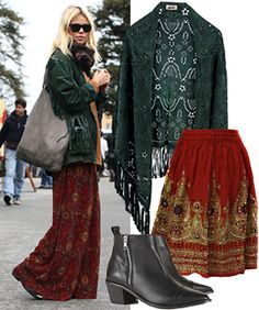 A Copy-Worthy Outfit Proving You Can Be A Babe In Winter Boho