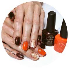 Shellac Nails, Nail Polish, Cuppa Joe, Autumn Nails, Nail Polishes, Polish, Manicure, Shellac, Fall Nails