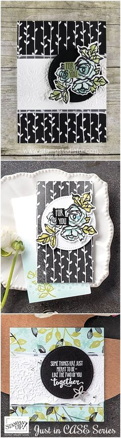 Just in CASE hand stamped for you card using the Petal Palette stamp set by Stampin' Up! www.stampstodiefor.com #casecard #stampinup #occasionscatalog