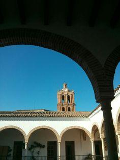Patio interior del Ayuntamiento de Zafra