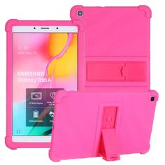 Child Kickstand Silicon Case For Samusng Galaxy Tab A 8.0 Inch (2019) SM-T290 T295 T297 Tablet Case Shockproof Shell Case Cover Samsung Cases, Shells, Child, Phone, Cover, Conch Shells, Boys, Telephone, Kid