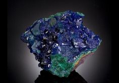 Azurite On Malachite - In Photos: 10 Hot Rocks For Your Portfolio