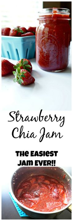 Wash up those fresh berries and get out your blender. Within a matter of minutes, you will have the freshest, healthiest jam ever! This jam is bound together with the the superfood, chia seed, and therefore requires NO pectin!