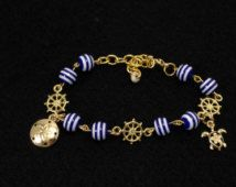 Nautical Bracelet  from my Auntie's shop