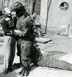 Behind-the-scenes Godzilla