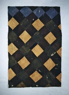 This quilt in our collection also bears the mark of the U.S. Sanitary Commission. It spent time in a Union hospital during the Civil War.