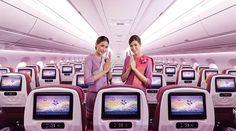 Thai Airways fliegt nonstop von Deutschland und Österreich nach Thailand. Unsere aktualisierte Aufstellung über Maschinen, Sitzpläne und Service.   #A350-900 #A380 #Airbus #B747-400 #B777-200ER #Boeing 777-200ER #Business Class #Deutschland #Economy Class #First Class #Frankfurt am Main #Platzgröße #Sitz #Sitze #Sitzgröße #Sitzplan #Sitzplat