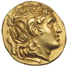 Ancient Gold Coins - Greek / THRACE, Kingdom of, Lysimachos, (323-281 B.C.), gold stater... Realisation Price $6,500.00 AUD... Click VISIT to see 10,000+ Gold Coins at MAD On Collections. Please feel free to pin or share this coin. #GoldCoins